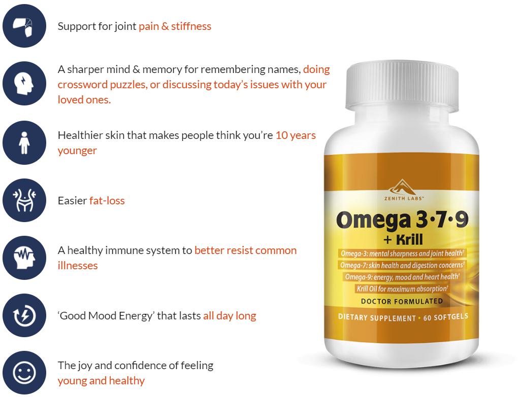 Omega 3 7 9 supplement