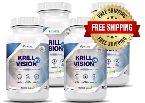 Krill Vision Pills Reviews