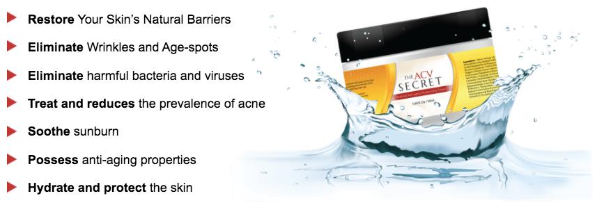 The ACV Secret supplements