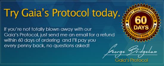 Gaia's Protocol Customer Reviews