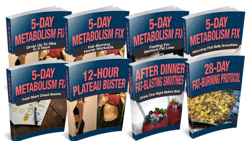 5-Day Metabolism Fix eBook